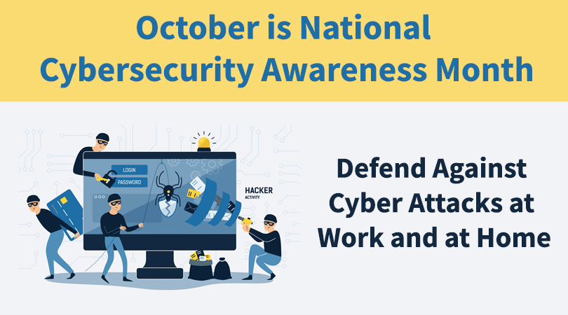 defend against cyber attacks