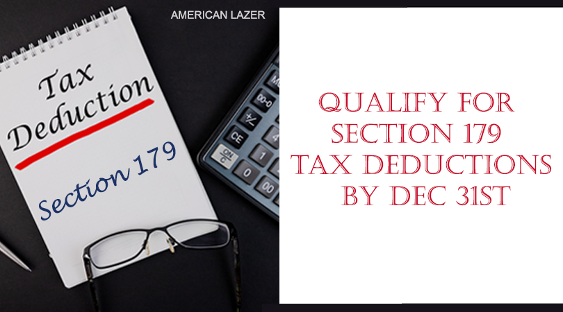 IRS Section 179 Deductions