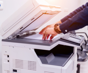 how does a multifunctional printer work